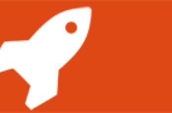 Logo ELes: eine stilisierte Rakete