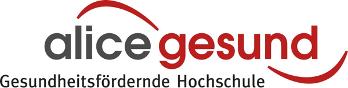 Auf dem Bild ist das Logo vom Projekt alice gesund zu sehen.