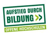 Logo Offene Hochschulen - Aufstieg durch Bildung