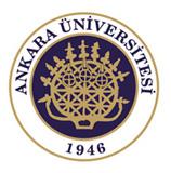 Das Logo der Ankara University.