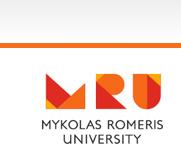 Das Logo der Mykolas Romeris University.