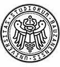 Das Logo der Universität Bolzano.