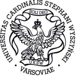 Das Logo der Universität Warschau.