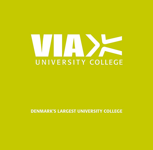 Das Logo des VIA University College.