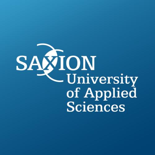 Das Logo der Saxion University Enschede.