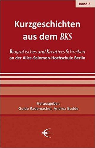 "Rotes Buchcover ""Kurzgeschichten aus dem BKS"""