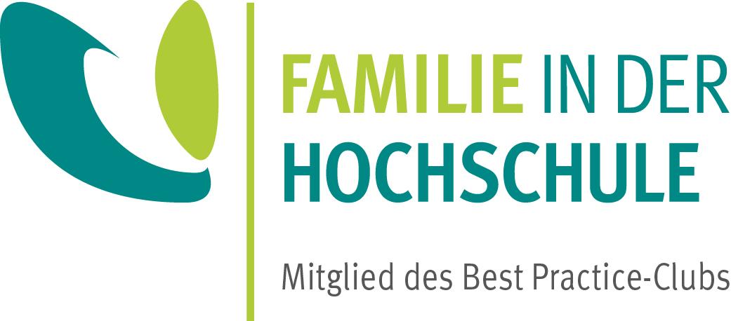 """Das Logo des Practice-Club """"Familie in der Hochschule"""""""