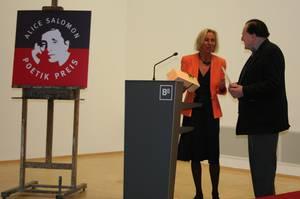 Christine Labonté-Roset und Gerhard Rühm bei der Verleihung des Alice Salomon Poetik Preises 2007