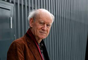Portraitaufnahme von Franz Hohler