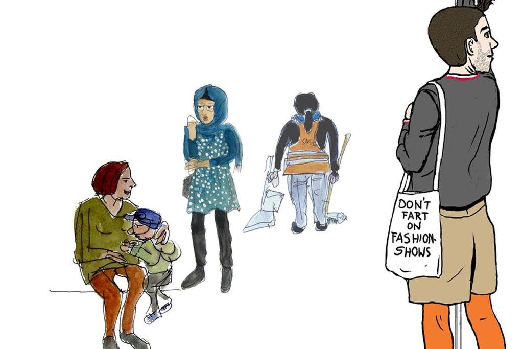 """Vergrößern: Illustration von Sabine Knauf, der Autorin des Kinderbuchs """"Einsteigen bitte!"""""""