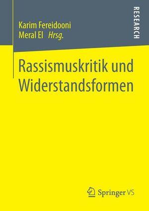 Buchcover Rassismuskritik und Widerstandsformen