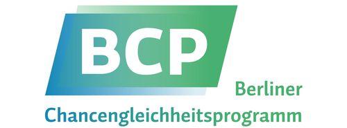 Logo Berliner Programm zur Förderung der Chancengleichheit für Frauen in Forschung und Lehre (BCP)
