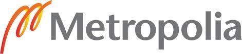 Das Logo der Helsinkimetropolia.