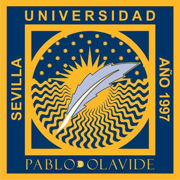 Das Logo der Universidad Pablo de Olavide de Sevilla.