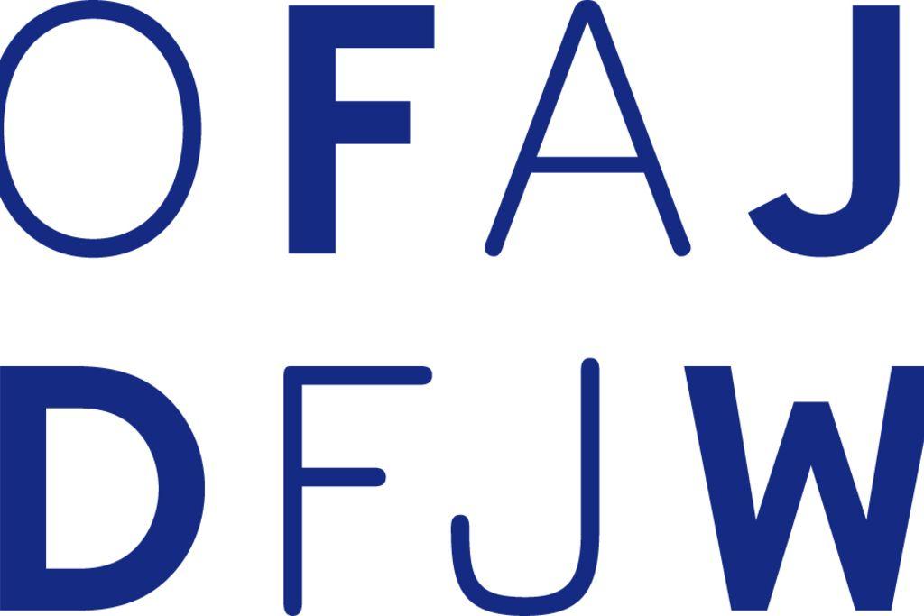 Vergrößern: Das Logo des Deutsch-Französischen Jugendwerks (DFJW)
