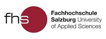 Das Logo der Fachhochschule Salzburg.