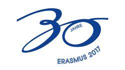 Logo 30 Jahre Erasmus