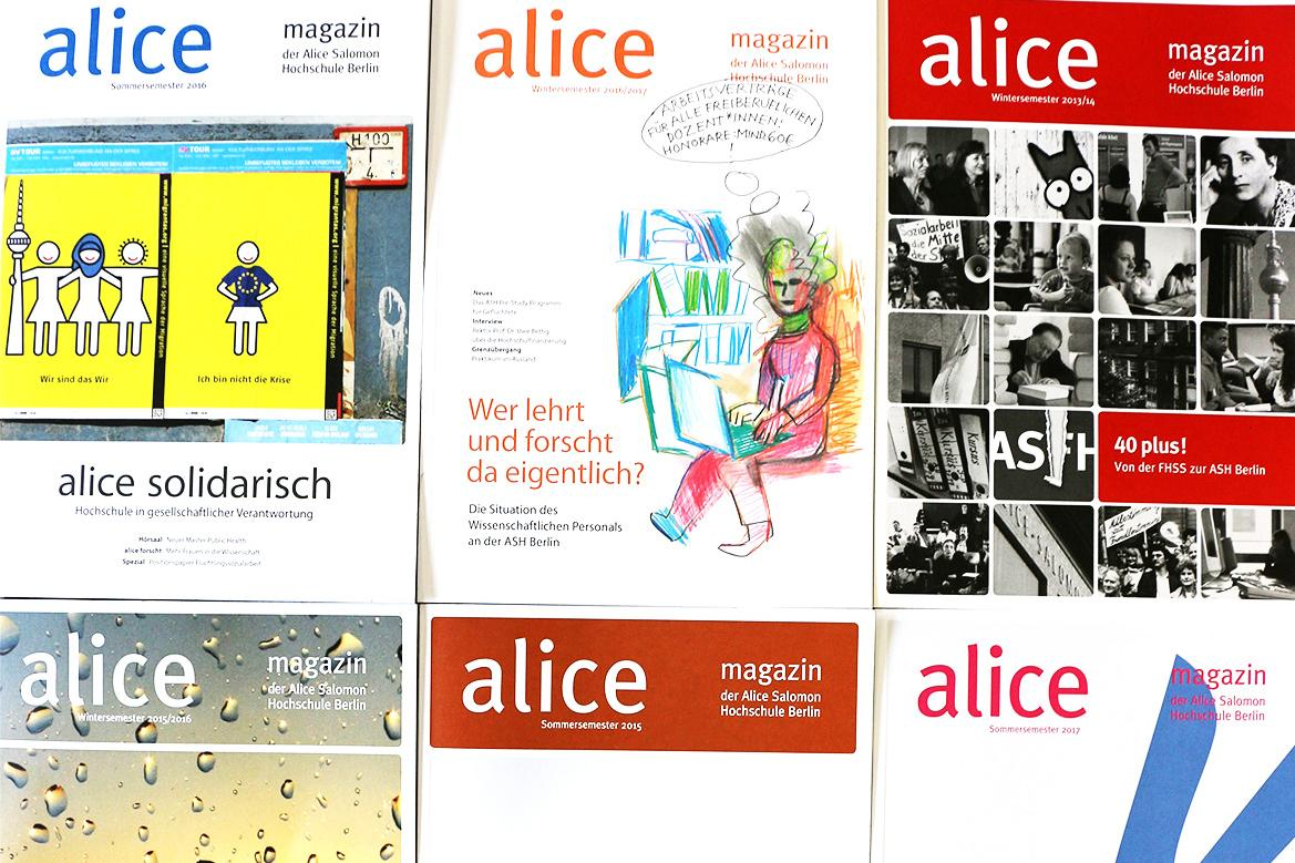 Cover von alice magazinen