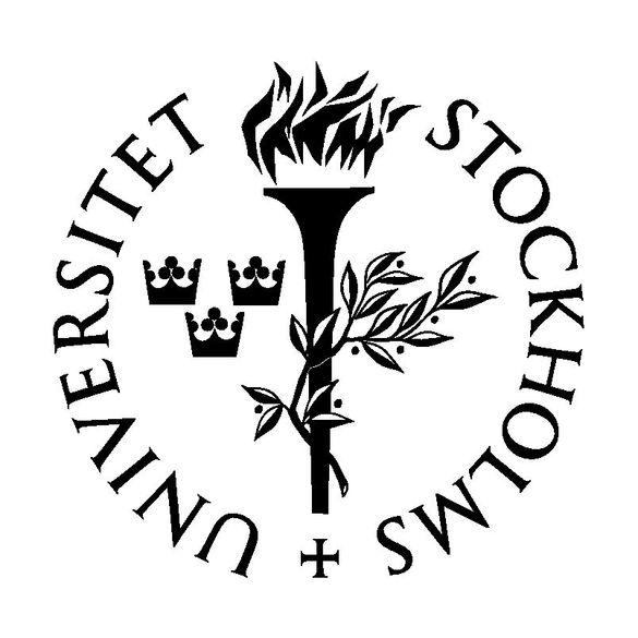 Das Logo der Stockholms Universitet.