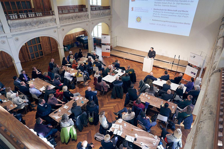 Präsentation PSNVNet auf Regionalkonferenz